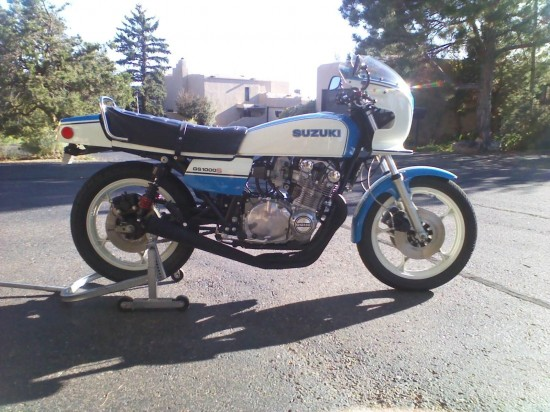 1980 Suzuki GS1000S R Side