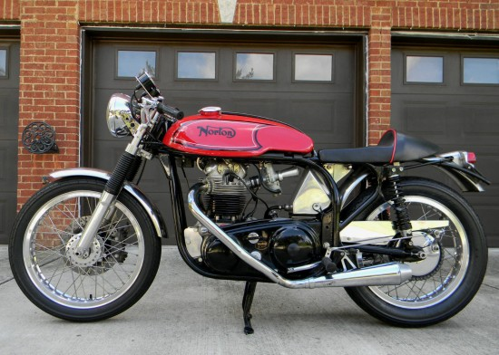 1966 Norton Atlas Cafe L Side