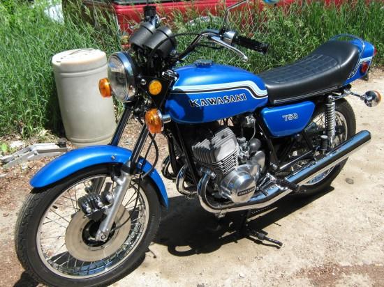 1972 Kawasaki H2 750 L Front