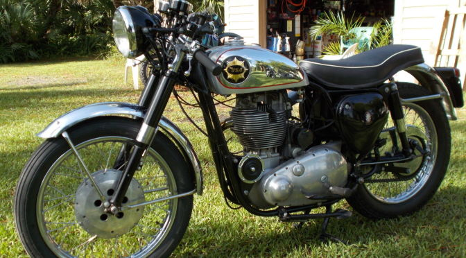 BSA Gold Star Clubman - Left Side