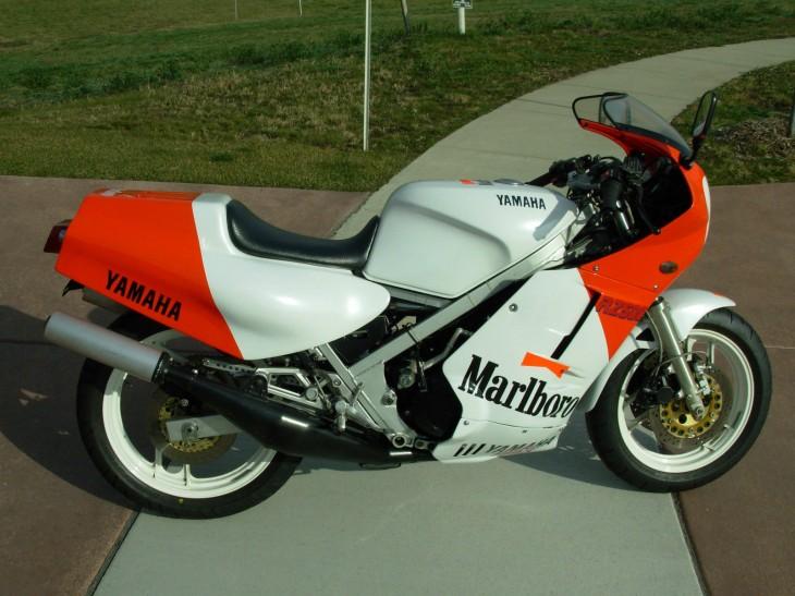 1985 Yamaha Marlboro RZ500 R Side