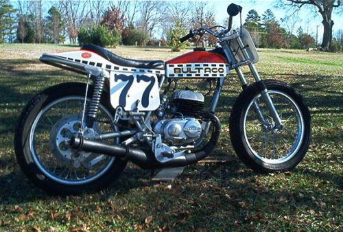 Bultaco Astro - Right Side