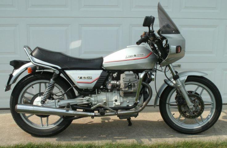 Moto Guzzi V65SP - Left Side