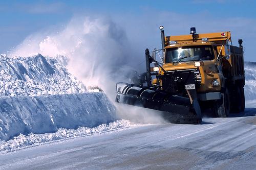 snow plow photo