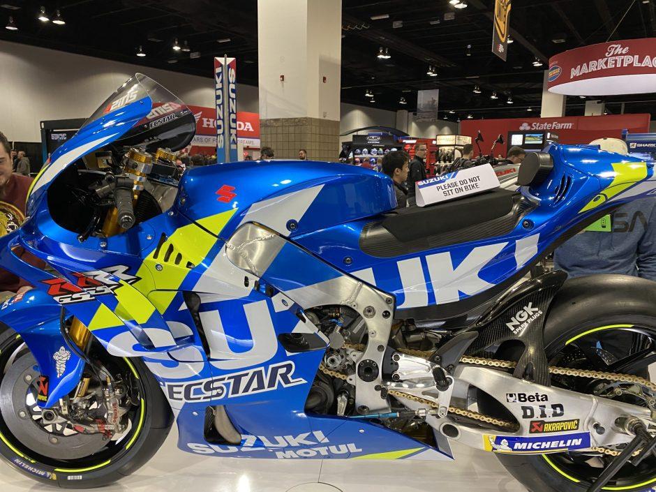 Suzuki MotoGP bike