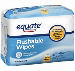 Flush-able Wipes