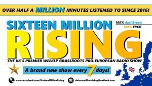 Sixteen Million Rising advert image