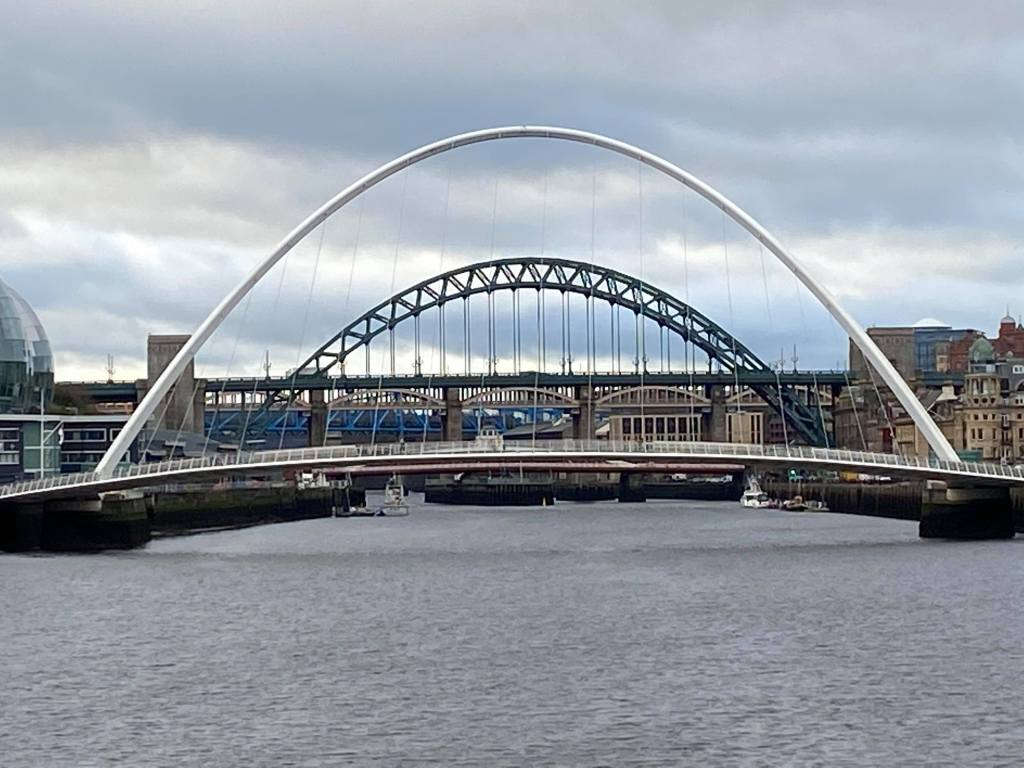 The bridges on the river Tyne, North East