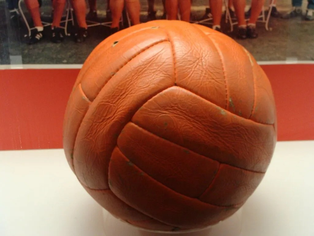 The ball from the 1966 cup final