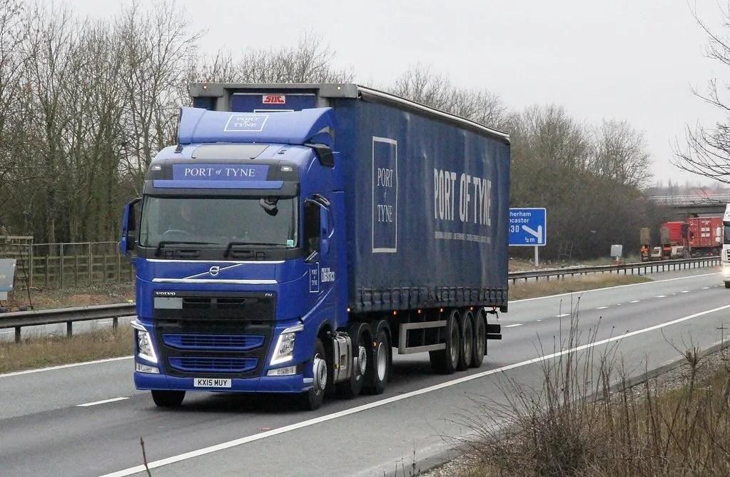 A Port of Tyne lorry