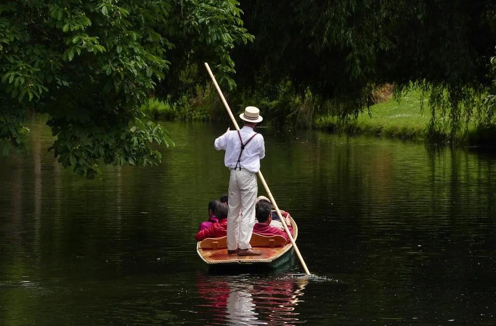 Jolly boating weather by Bernard Spragg