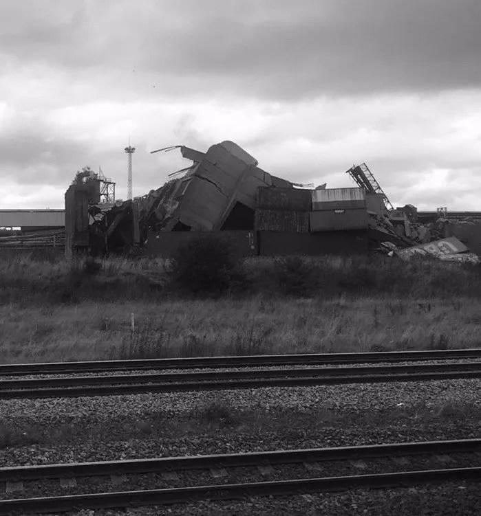 Dorman Tower demolished