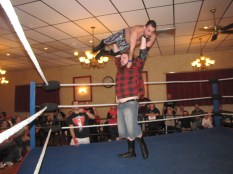The Lumberjake does his best to beat NCW New England Champion Mike Paiva in his first title opportunity.