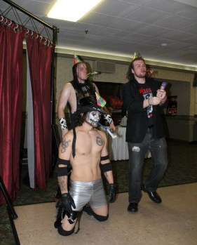 The Underground Anarchy is formed (Tim Lennox, Sean Feeney, and Dominic Delano)