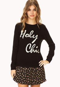 gift- sweater forever21