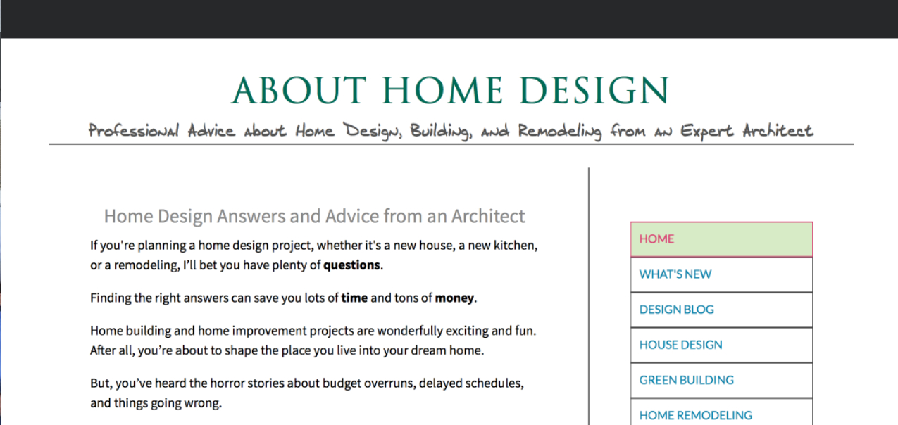 Designing Your Perfect House: Lessons from an Architect by William J. Hirsch Jr. AIA