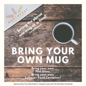 Bring your own mug!