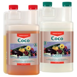 growing plants in coco