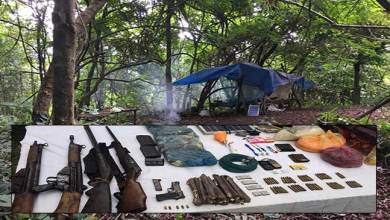 Karbi Anglong: Army busted HNLC camp and recovered Arms and Ammunition