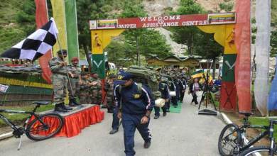 Photo of Tri Services Adventure Expedition was flagged off from Sapper