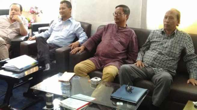 Shillong- United Democratic Party announces First list of candidates for coming Assembly Election