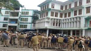 Mizoram: MSU attacks Chakma House in Aizawl