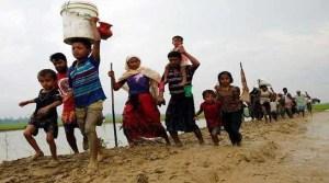 Exodus of Rohingya Muslim from Myanmar Continues