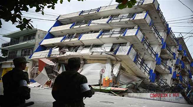 61 dead in Mexico Earthquake