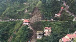Landslide in Shimla's Dhalli, vehicles buried, temple and houses damaged
