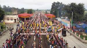 ABSU rail roko andolan for Bodoland disrupted train services