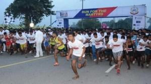 BSF organises Half Marathon to celebrate Shaeed Divas