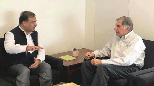 Himanta proposes Ratan Tata to setup Cancer Care Grid in Assam