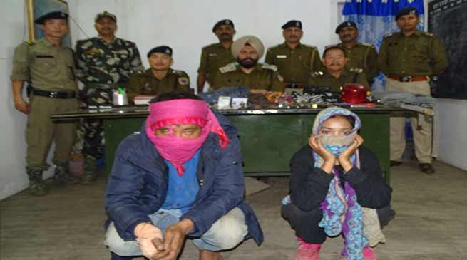 Arunachal police arrested Couple who looted 43 ATMs