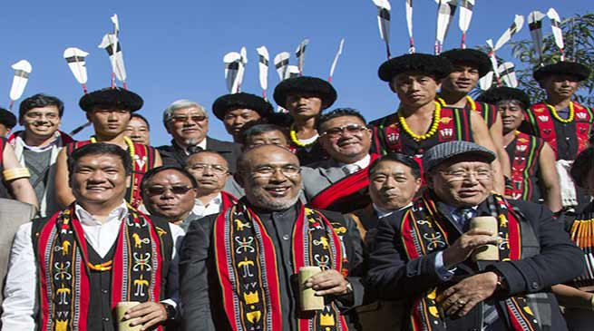 Sangai and Hornbill Festival should be jointly promoted- Manipur CM