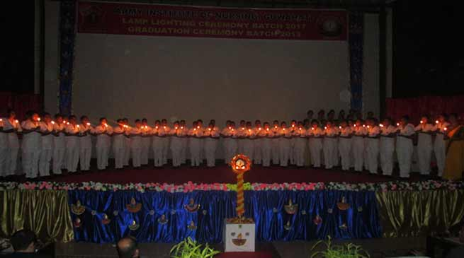 Lamp Lighting and Graduation Ceremony of AIN
