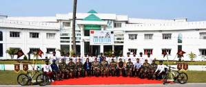 Assam: Indian Army carried out Trans Assam Cycling Expedition