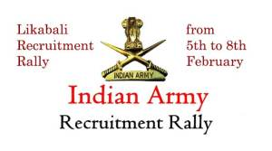 Likabali Recruitment Rally- Army Jawan vsiting remote areas to spread awareness