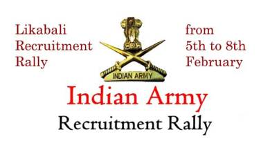 Photo of Likabali Recruitment Rally- Army Jawan visiting remote areas to spread awareness