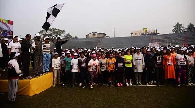 Assam: Indian Army organises Rashtriya Ekta Mini Marathon