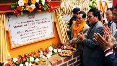 Photo of Sikkim: CM lays foundation of India's Tallest and Biggest Lord Parshuram Statue