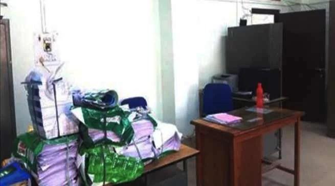 Manipur : Strike hampered work in Govt offices