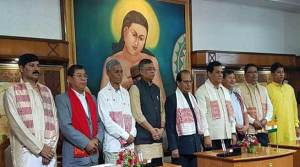 Assam:7 new minister inducted in Sonowal's cabinet