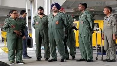Gagan Shakti : Sitharaman visits Chabua Air Force Station in Assam