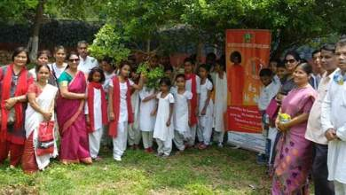 Photo of Earth Day: Sri Sathya Sai Seva Samithi  organises Tree Plantation in Guwahati