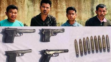 Photo of Assam : Security forces apprehended 4 KPLT(AT) cadres with Arms and Ammunition