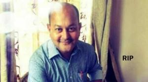 Assam: Sr Journalist Simanta Bahgwati Passes away