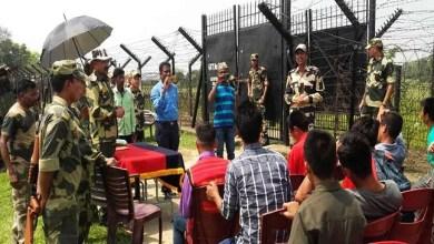 Mizoram: Mizo Farmers Witness Gate Management Drills held at Indo-Bangladesh Border