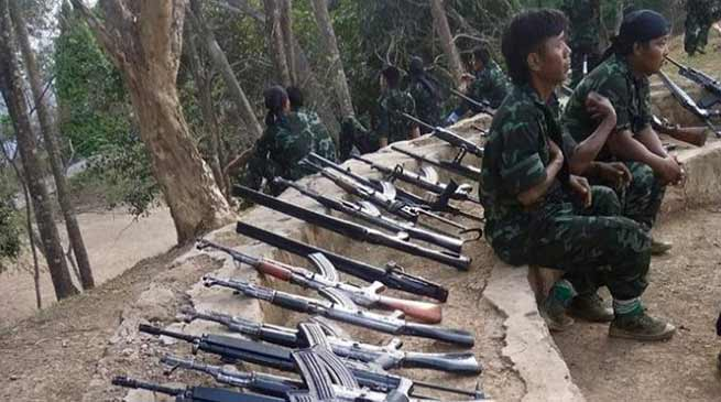 Mizoram: 114 HPC (D) militants gets 3 lakh each as rehabilitation package