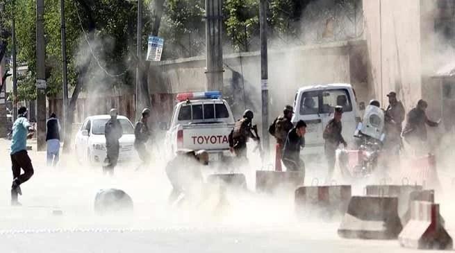 Twin Blast in Kabul, 25 killed including 8 Journalist