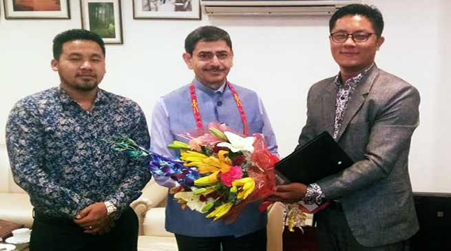 Arunachal: ANSF delegation meet with Interlocutor for Indo-Naga Peace Talk